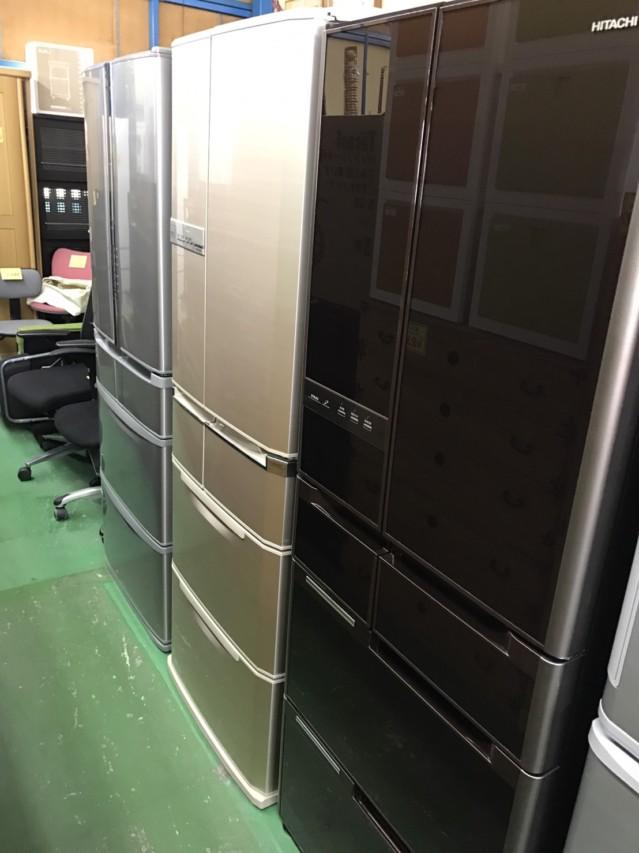 中古 フレンチ6ドア 冷蔵庫 大型