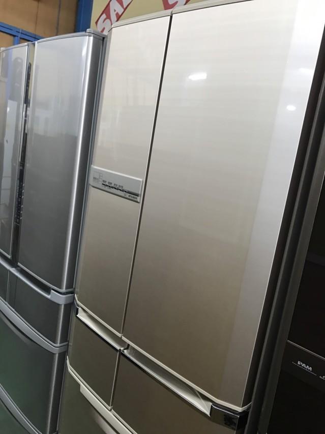 中古 フレンチ6ドア 冷蔵庫