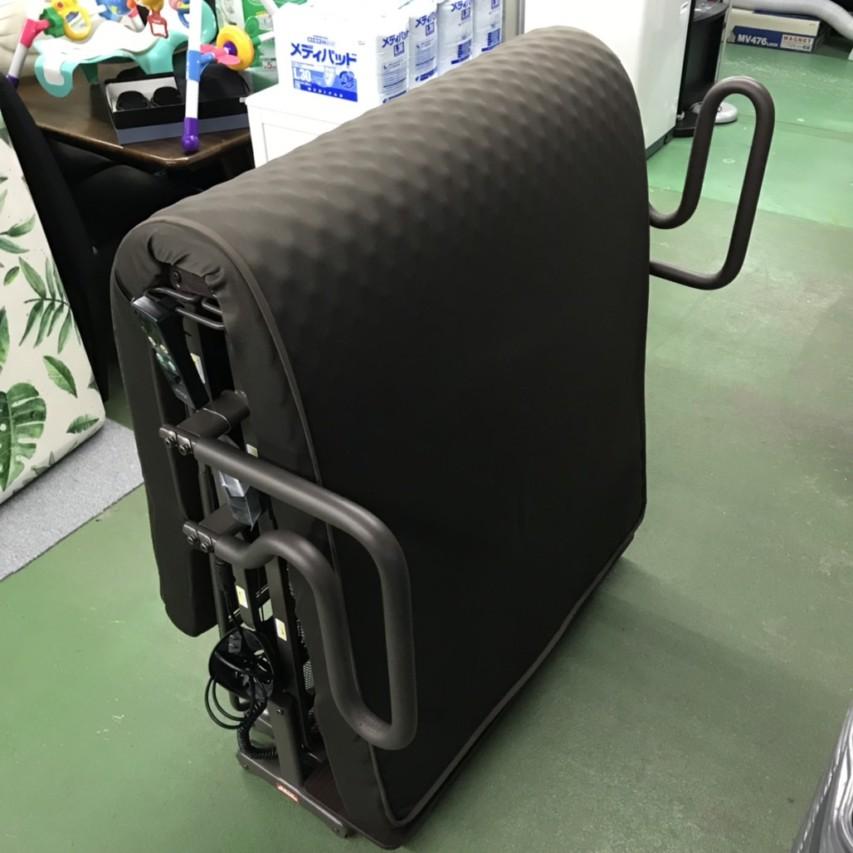 アテックス 収納式 電動リクライニングベッド Wファンクション2モーター(AX-BE635N