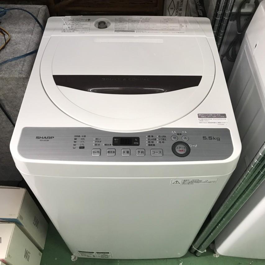 SHARP 2018年 4.5kg 全自動洗濯機 ES-GE4B