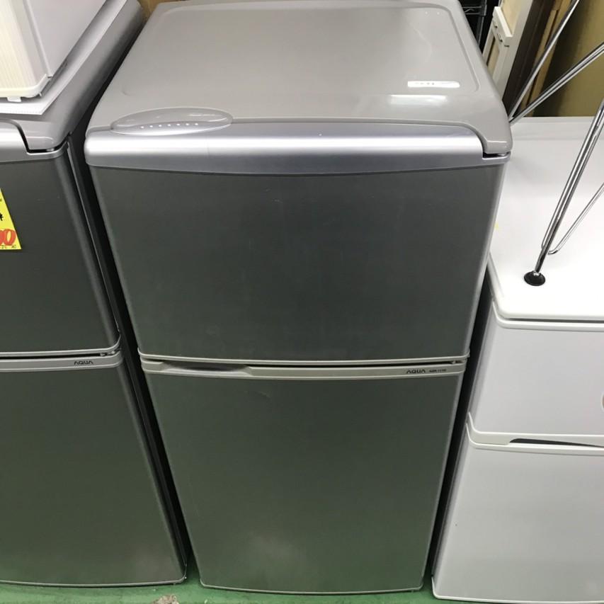 AQUA 2015年製 2ドア冷凍冷蔵庫 AQR-111D